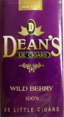 Deans Wildberry Flavored Mini Filtered cigars